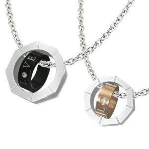 Přívěsek pro dvojici - matice s vnitřním prstencem